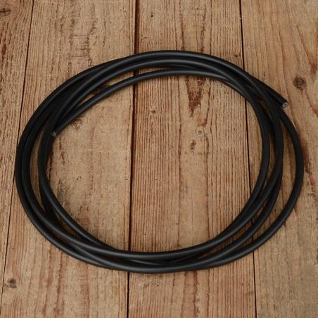 Zündkabel, schwarz, D=7mm, 50cm Stück