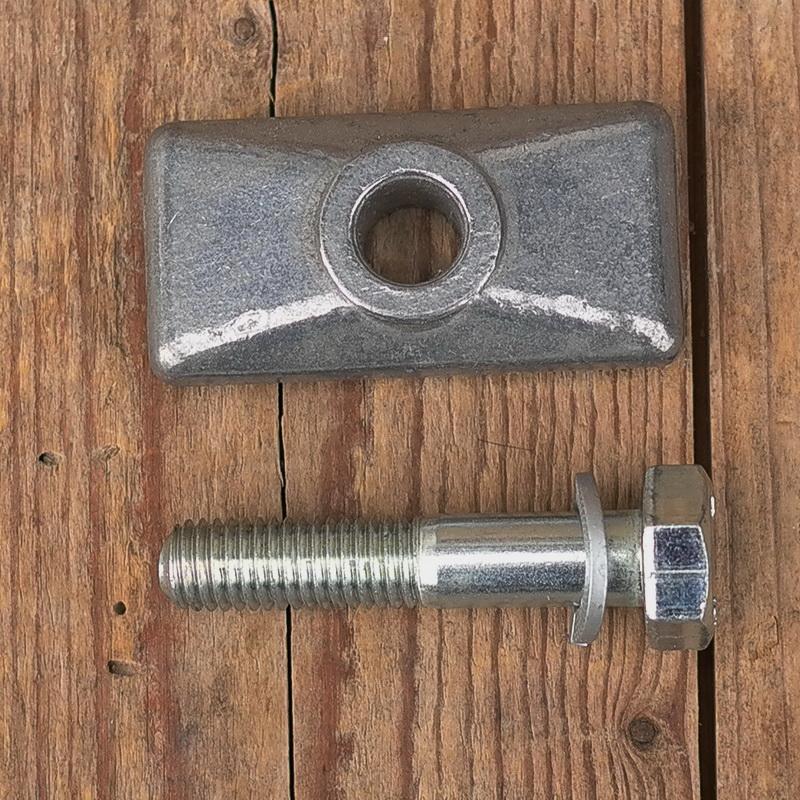 Ständerbefestigungsmaterial  für Fahrräder ohne Anlötplatte am Rahmen