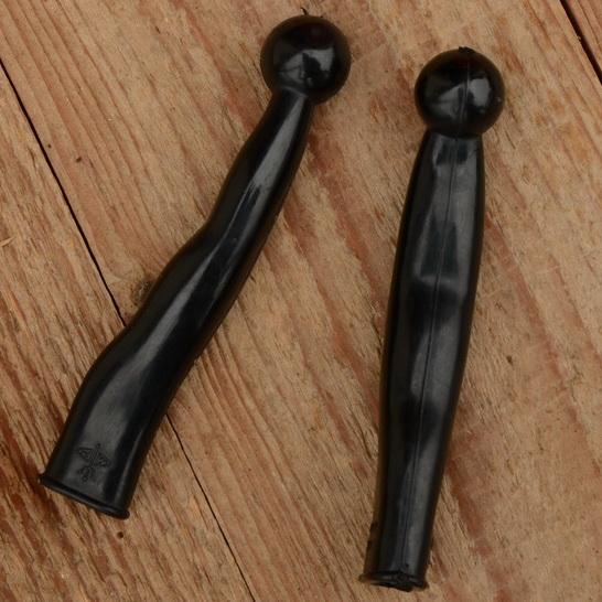 Hebelüberzug mit Kugel, universal, schwarz, L=100mm