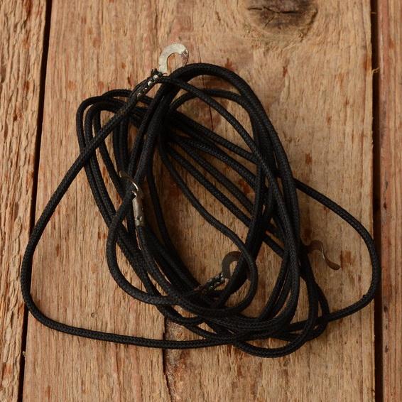 Kabelsatz,  gewebeisoliert,  schwarz, orig. 20-50er Jahre, alte Ausführung