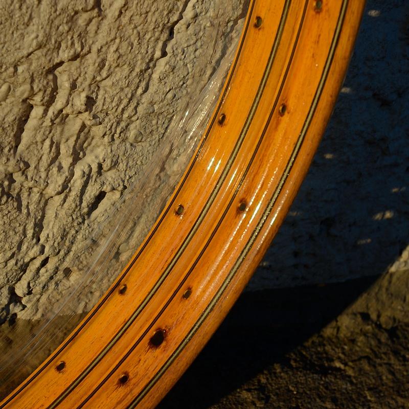 "Felge 28"" x 1 1/2  (635) WESTWOOD Profil, Stahl, Holzdekor (RT) , 36 Loch, 38mm breit, Bohrung 4,5mm"