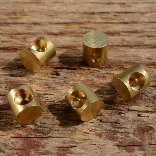 Lötnippel, D=5.5/2.0mm, L=5.5mm, Messing, FIX Bez. 12F