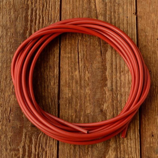 Bowdenzugaußenhülle, rot, außen ca.5mm, innen 2,8 mm, 5 Meter