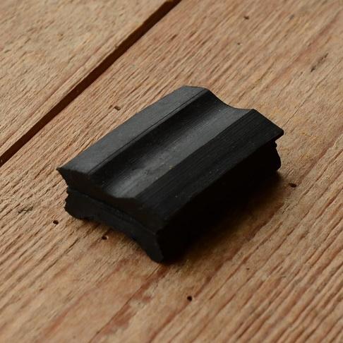 Bremsgummi für Gestängebremse / Stempelbremse, Standardausführung für 99% aller Räder passend