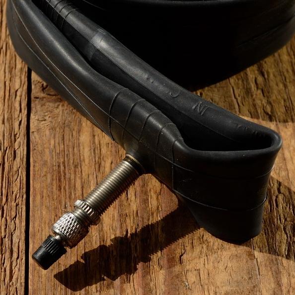 """Fahrrad - Schlauch, 20"""" x 1.75 / 2.125  (47/57-406), Dunlop Ventil (DV) alter, kurzer Schaft 25-30 mm"""