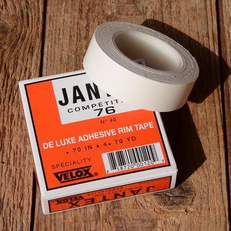"""Klebeband doppelseitig  """"Velox Jantex 76"""", 18 mm breit, zur Schlauchreifen Montage (Verklebung)"""