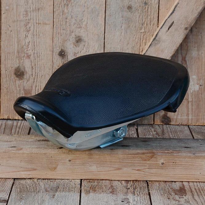 Denfeld Moped Schwingsattel, schwarz, stabil und sehr komfortabel, aufwändig gefertigt