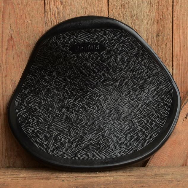 Satteldecke einzeln für Denfeld Moped Schwingsattel, schwarz, paßt auch für andere Sattelfabrikate