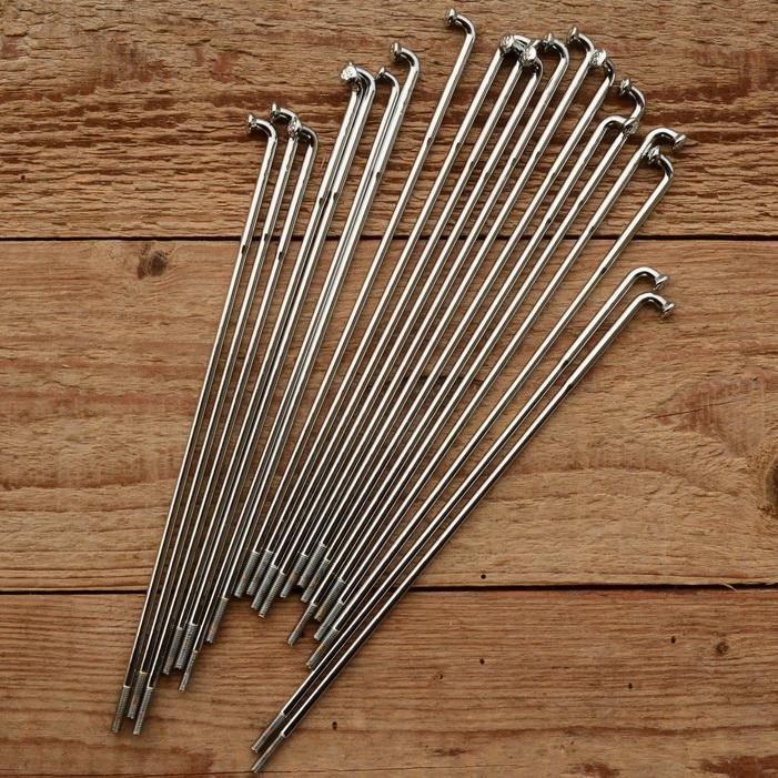 Speiche ED M3.5 x 3.03 mm, chrom, ohne Nippel, Länge s. Varianten 181 mm