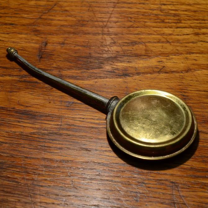 Ölkännchen Messing, orig. Altbestand, authentisches Zubehör
