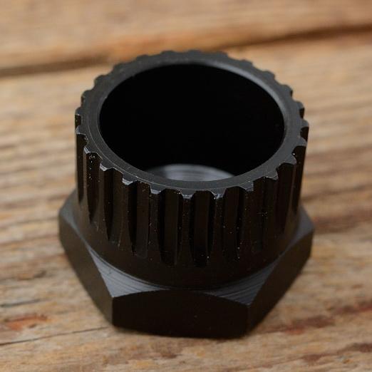 """Freilauf Abnehmer """"KEMPER"""" D=31.4/29.2mm, brüniert, für Maillard Normandy"""