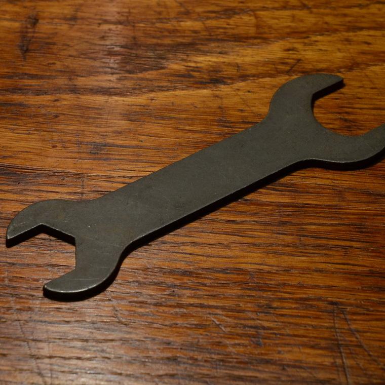 """Flachschlüssel,  """"System Fichtel&Sachs"""""""", 17/20mm"""
