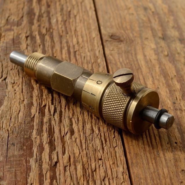 Zündeinsteller für 14 mm Kerzengewinde, hochwertige Ausführung in alter Bauform der 30-70er Jahre
