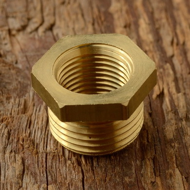 Adapter für Zündkerzengewinde von Standard 14 mm auf 18 mm (z.B. Sachs 98 ccm)