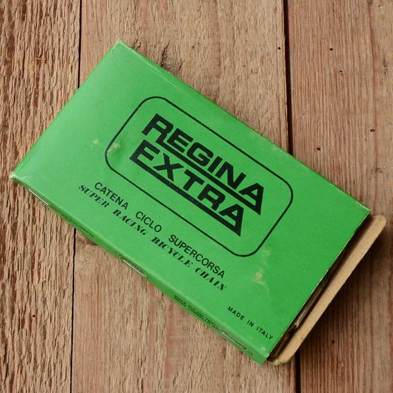 """Rennrad Kette """"REGINA EXTRA"""", 1/2"""" x 3/32"""", 112 Gld., NOS"""