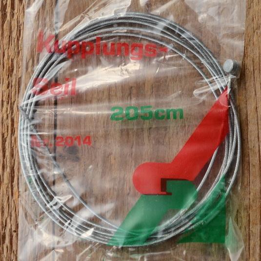 Bremsinnenzug, Stahlseil, D=1.5mm, L=2000mm
