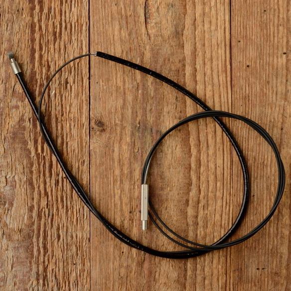 """Schaltzug """"STURMEY ARCHER"""", schwarz, L=1570/425mm, orig. Altbestand 30-60er Jahre"""