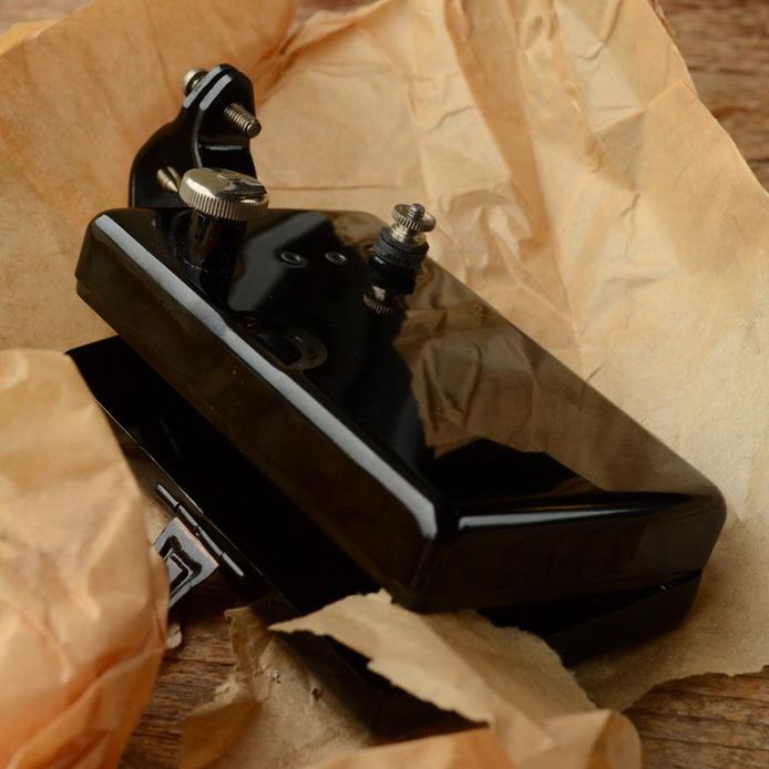 Fahrrad Batteriekasten für elektr. Beleuchtung, orig 20/30er Jahre