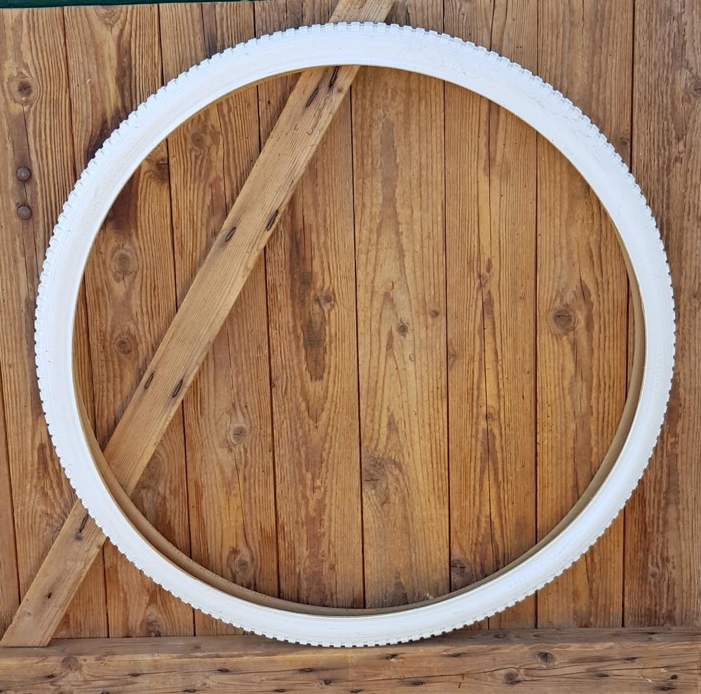 Fahrrad Reifen 28 x 1 1/2, (40-635), altweiß