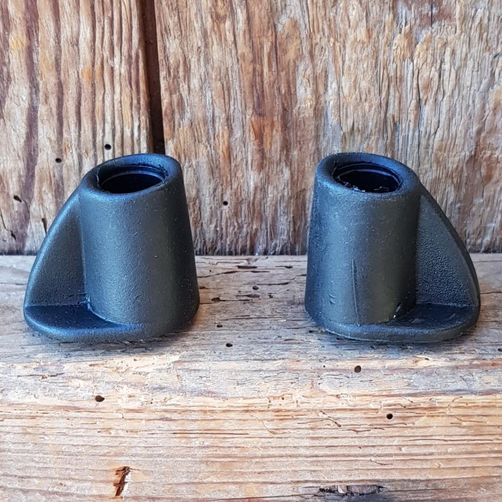 Schutzkappe für Zweibeinständer, schwarz, u.a. für Zweibeinständer 01055 passend, D_innen=ca. 12,5 mm
