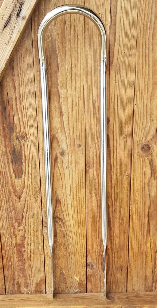 Sissybar, verchromt, L=66cm, für Bonanza/Polorad, rare alte Neuware der 70er Jahre !