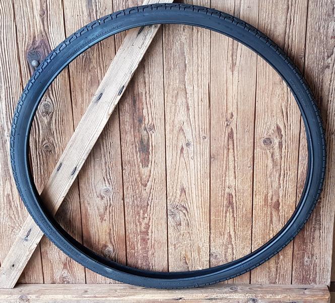 Fahrrad Reifen, 28 x 1 3/8 x 1 5/8 (37-622), schwarz, klassische Ausführung
