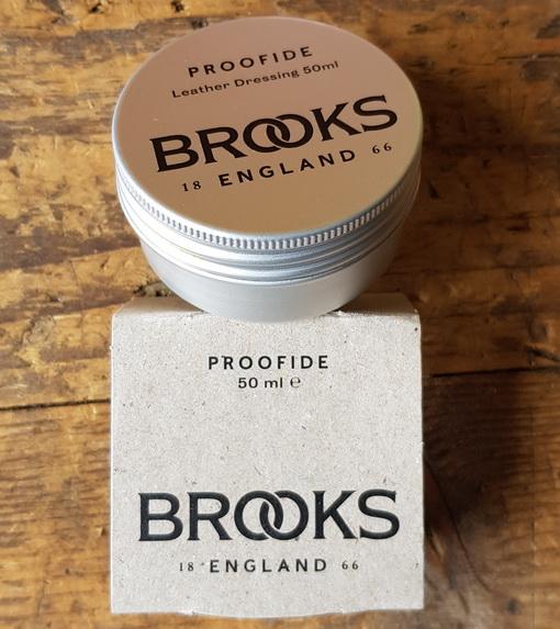 """Lederfett """"BROOKS PROOFIDE"""", 50 ml, die große Dose für viele Anwendungen!"""