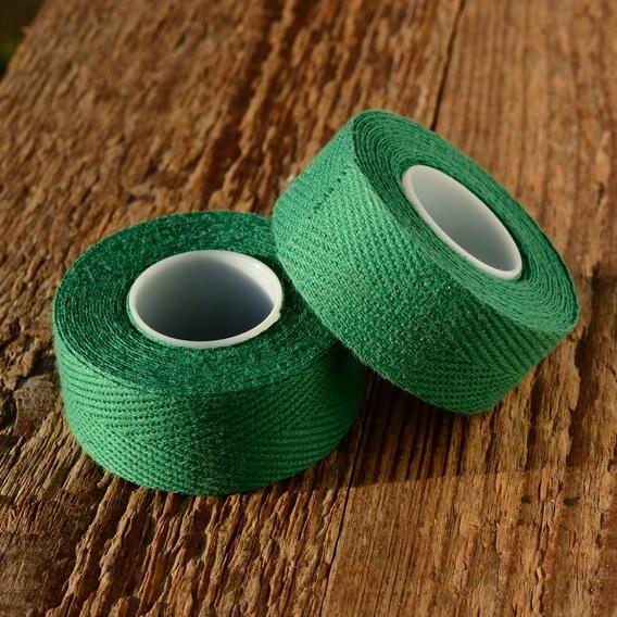 "Lenkerband ""TEXTIL / LEINEN"", grün"