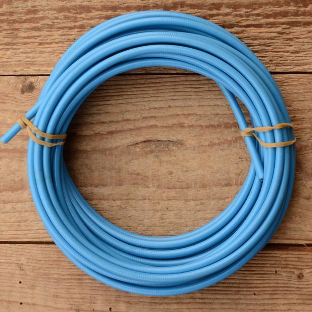 Bowdenzug Außenhülle, blau, Durchmesser außen 4.8mm, Durchmesser innen 2.5mm, 1 Meter