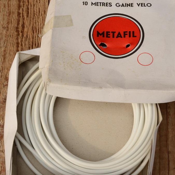 """Bowdenzug Außenhülle """"METAFIL"""", weiß, Durchmesser außen 5mm, Durchmesser innen 2,8mm"""