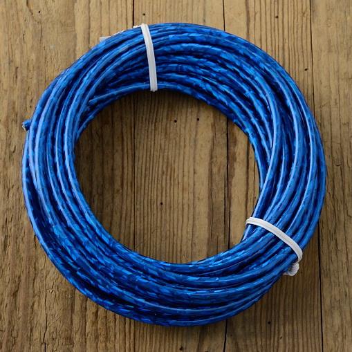 Bowdenzug Außenhülle, blau, Durchmesser außen 5.0mm, Durchmesser innen 2.5mm, pro Meter