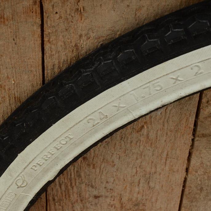 Fahrrad Reifen, 24 x 1.75 x 2 (47-507), weiße Flanke, Schwalbe