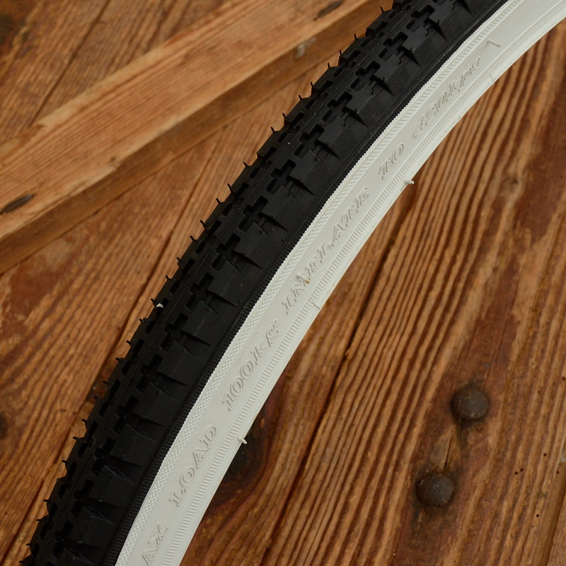 Fahrrad Reifen 28 x 1 1/2, (40-635), Weißwand, ideal u.a. für AT-Waffenräder