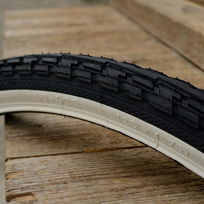 """Fahrrad Reifen """"CONTINENTAL"""", Ride Tour,  28"""" x 1,75, (47-622), schwarz / weisswand"""