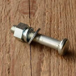 Sattelklemmbolzen mit Fassonmutter, glanzverzinkt M8 x 45mm