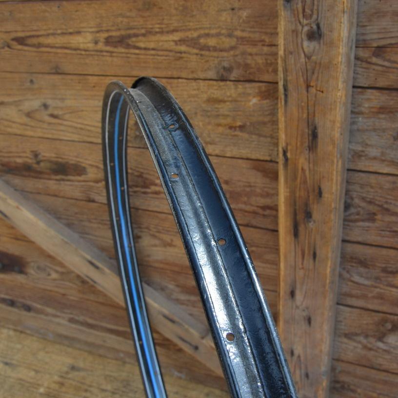 """Fahrradfelge für Wulstbereifung, 28"""", Stahl, 36-Loch, Breite 34,5 mm, überlackiert"""