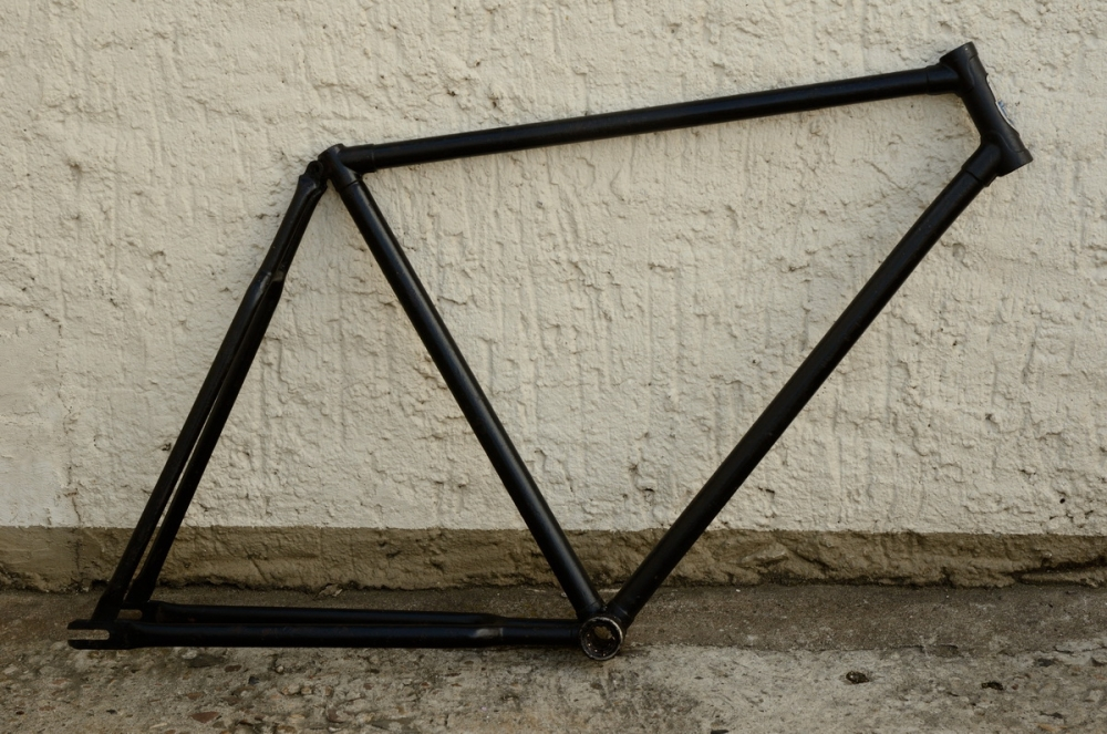 "Fahrradrahmen ""NSU"",  Herrenausf., 28 Zoll , RH=55cm, orig. 30er J., ohne Gabel,  ohne Tretlager"