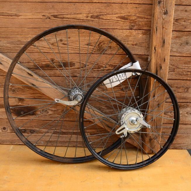 Laufradsatz Transportrad 20 und 26 Zoll, Trommelbremse