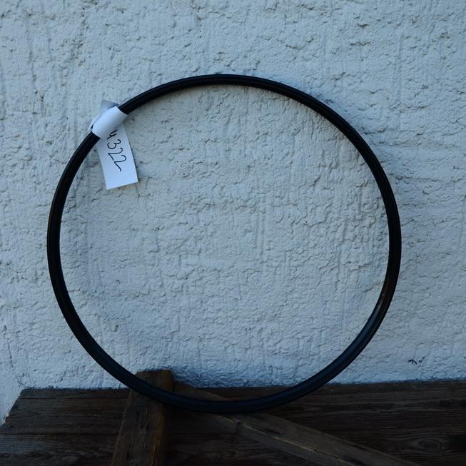Drahtfelge 26 Zoll, Stahl, Breite 39,5 mm, schwarz