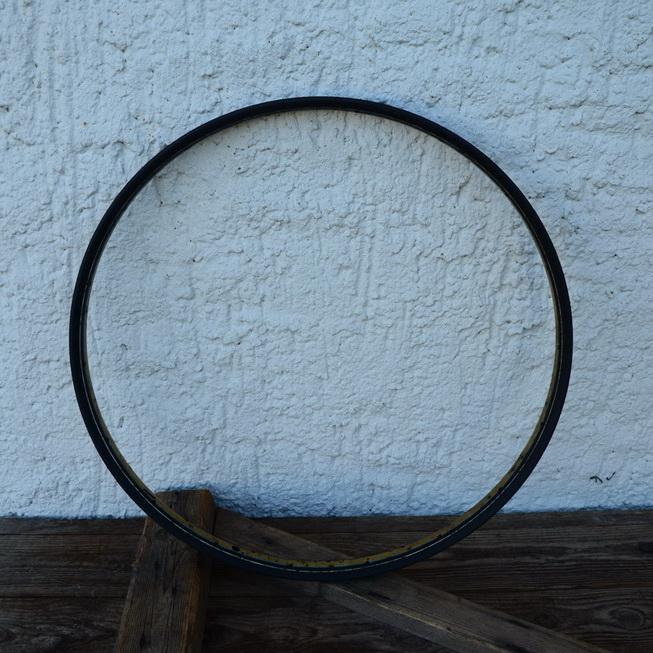 Wulstfelge 24 Zoll, Stahl schwarz