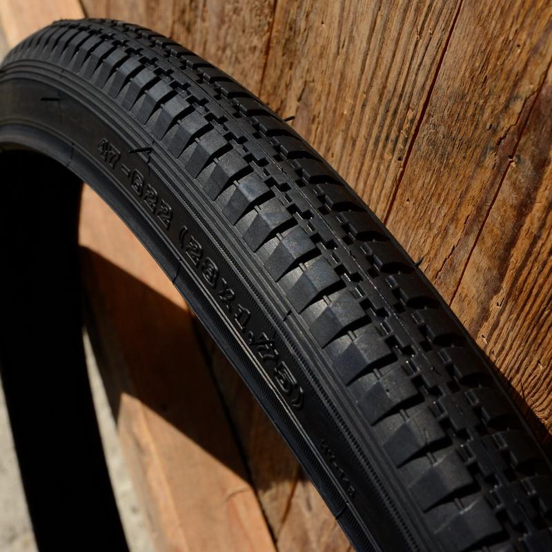 Fahrrad Reifen, klassisches Modell, 28 x 1,75 (47-622), altes Profil, breite, sehr stabile Ausführung, schwarz