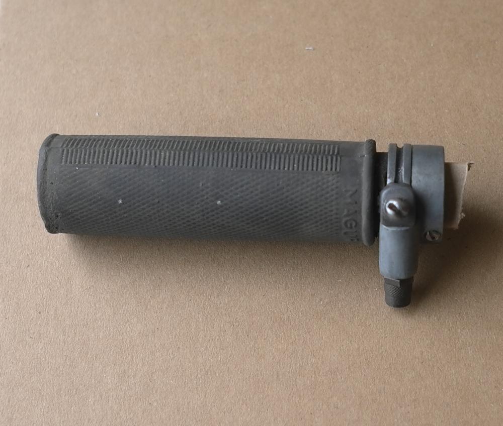 """Gasgriff """"Magura Piccolo"""" für Fahrrad Hilfsmotor etc, passend für 22  mm Lenker, unbenutzt aus Bestand, ideal für 50er J. Hilfsmotoren, Rex etc."""