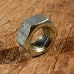Achsmutter FG 9.5mm, verzinkt, für Hinterachse