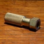 Achmutter Aufstieg, FG 9.5 mm, (Form A), Stahl vernickelt