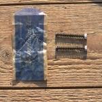 Stellschraube Campagnolo für Ausfallende, alte Neuware, 35 mm lang, satzweise in Campagnolotüte