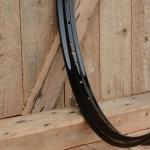 Felge Fahrrad/Moped Stahl 26 x 2,00 (559), schwarz lackiert, 36Loch, 39,5mm breit