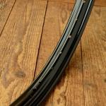 Felge Motorfahrrad/Moped 26 x 2,25 (559), 36 Loch, schwarz lack, 45 mm breit