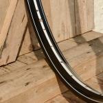 """Fahrradfelge 28"""" x 1,75 (ISO/ETRTO 622mm), schwarz, 36 Loch, Dek.16 weiss weiss"""
