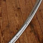 """Fahrradfelge IDEAL Profil, 28"""" x 1.75, (622), verchromt, orig. 30-50er Jahre, 36 Loch, ca. 36mm breit aussen"""