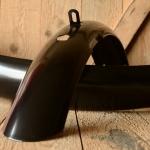"""Schutzbleche 26"""" HR, schwarz, ca. 65 mm breite Ballonausführung 26 x 2.00, Dek.0 unliniert"""